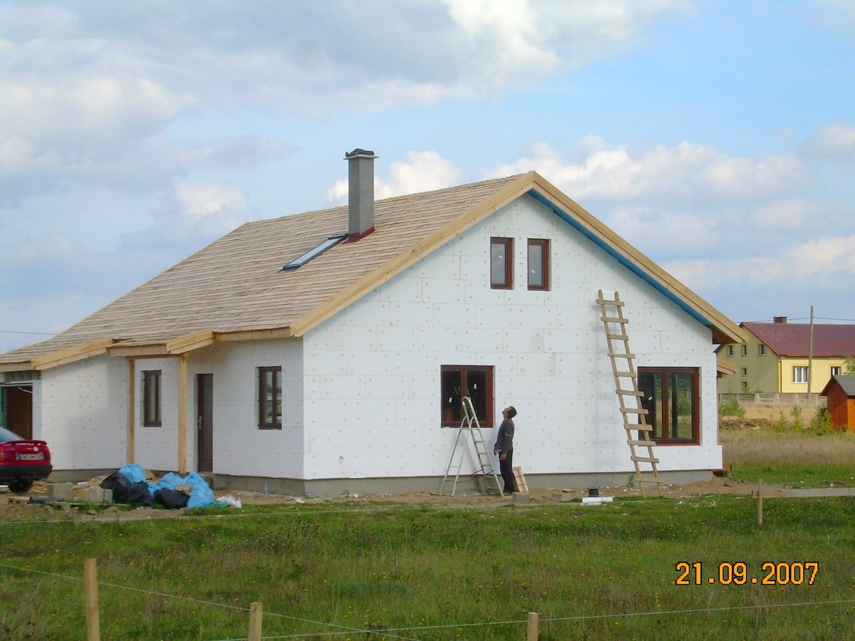 Realizacja domu Modrzewiowy
