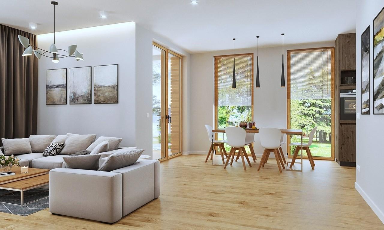 Wnętrze domu Optymalny odbicie lustrzane