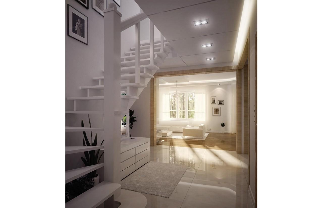 Wnętrze domu Orlik