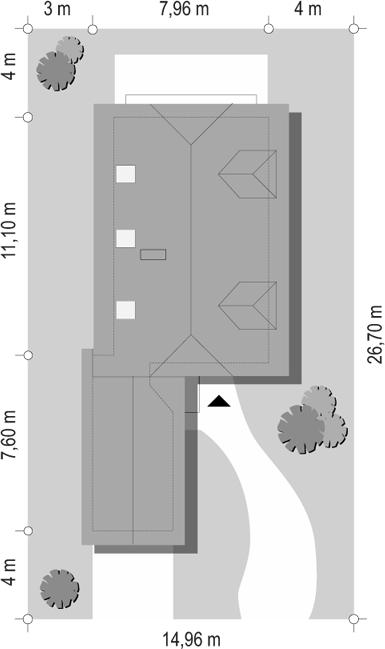 Pierwszy dom 2 - sytuacja