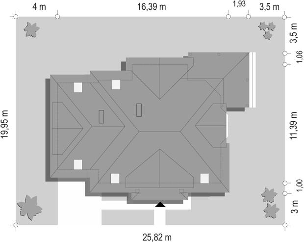 Rubin 3 - sytuacja odbicie lustrzane