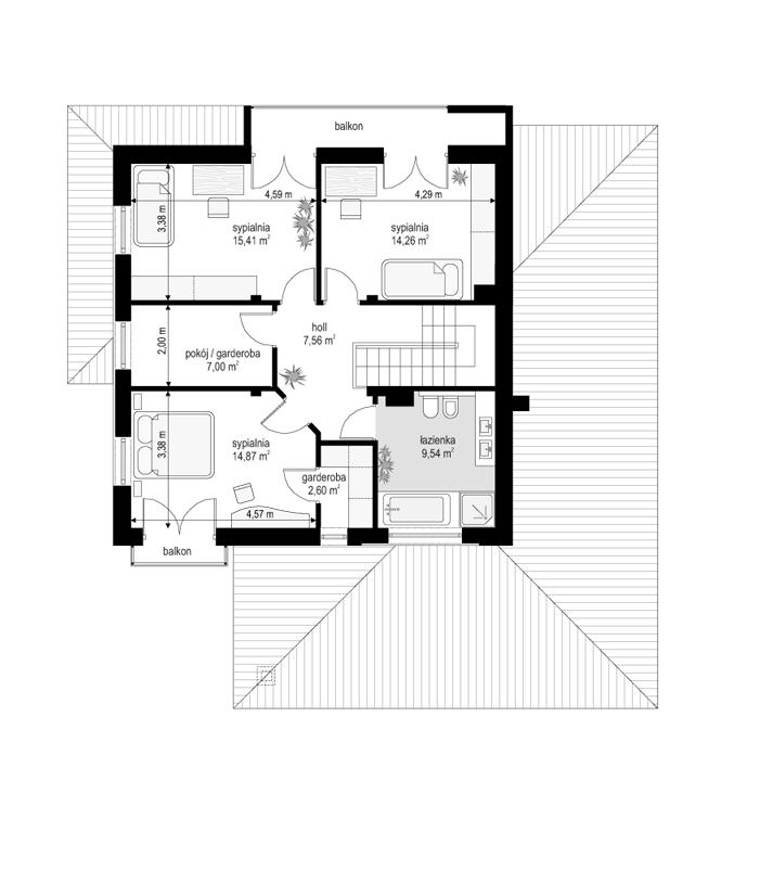 Szmaragd 5 - rzut piętra