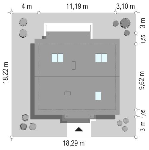 Żabka 2 - sytuacja odbicie lustrzane