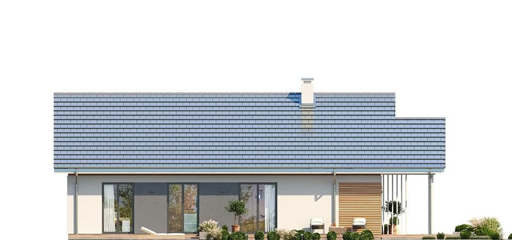 Projekt domu Dom na południowej 2 - elewacja