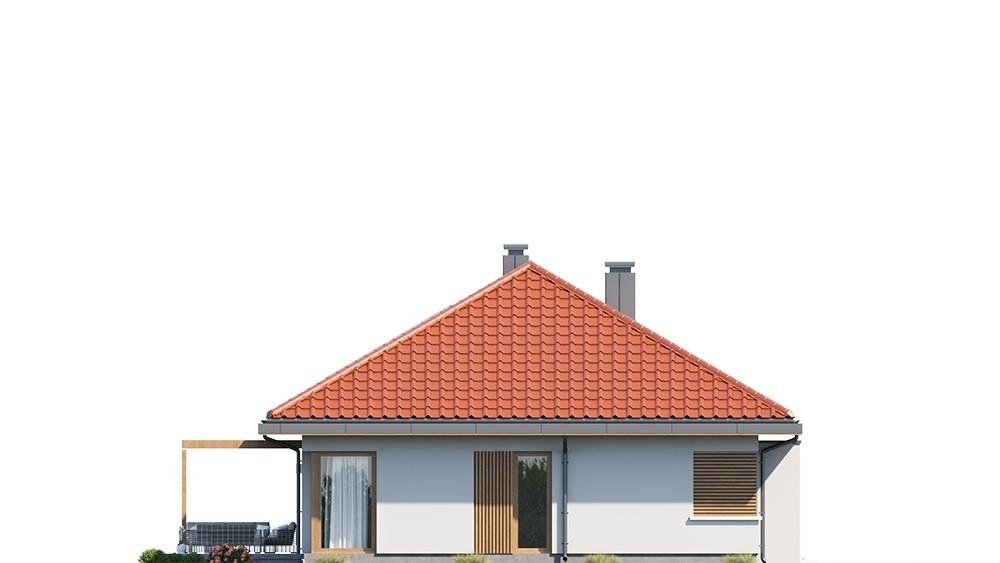 Projekt domu Dom na praktycznej 3 - elewacja