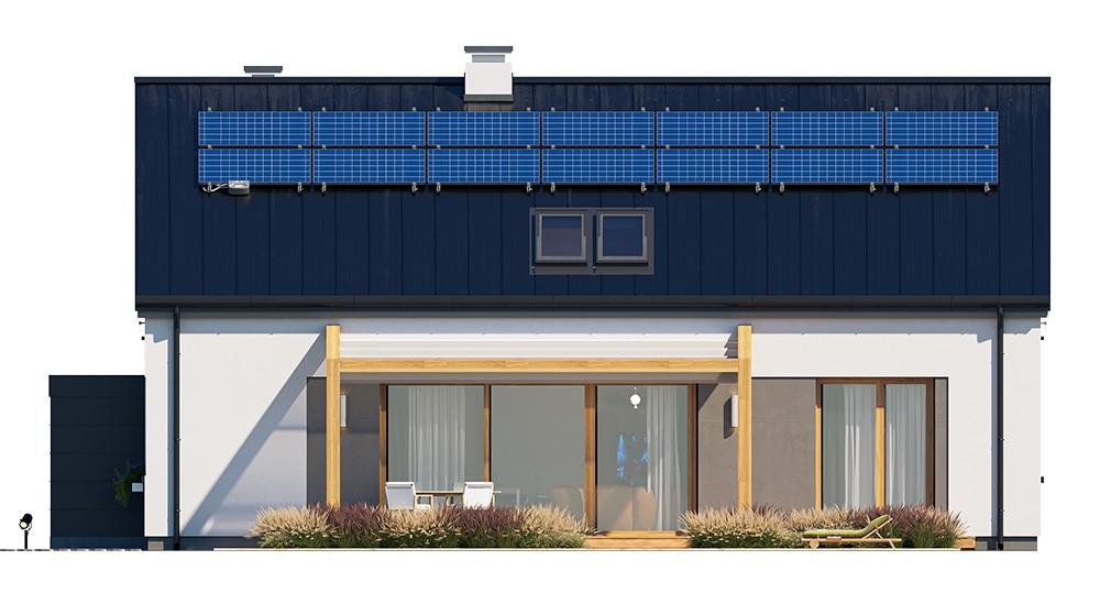 Projekt domu Dom na przytulnej 3 - elewacja