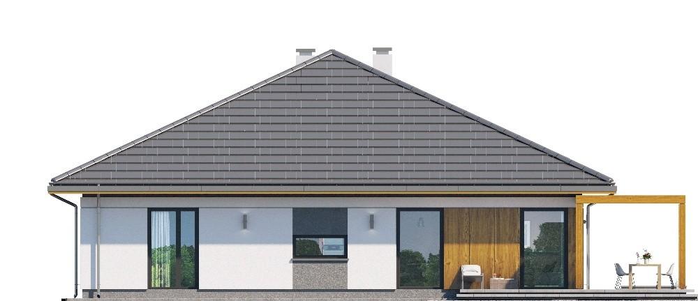 Projekt domu Dom na słonecznej 2 - elewacja
