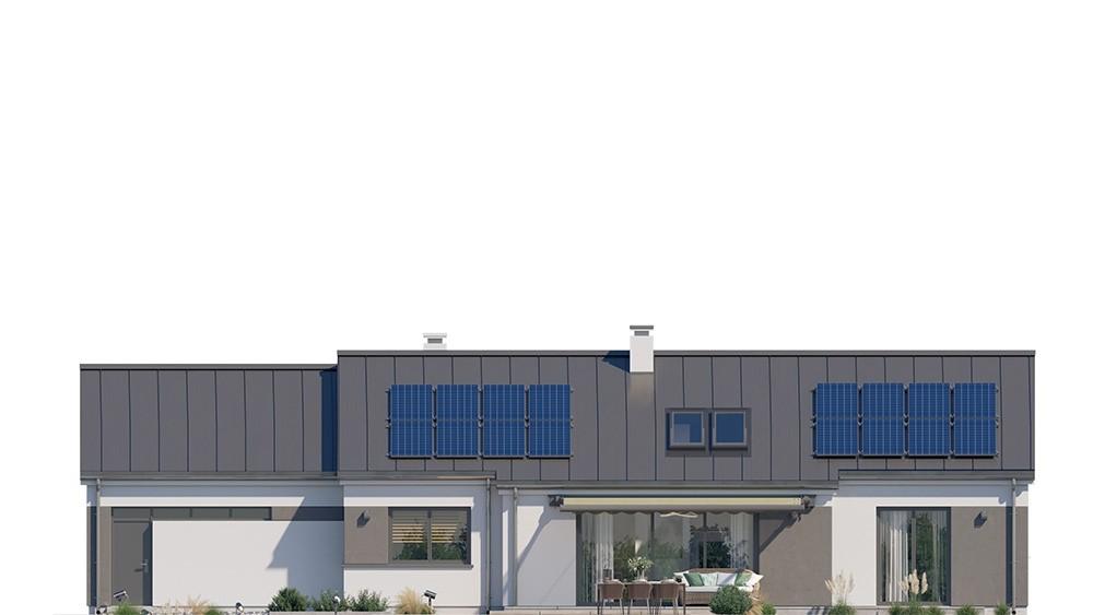 Projekt domu Dom na szerokiej - elewacja