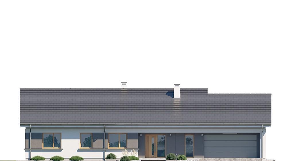 Projekt domu Dom na szerokiej 2 - elewacje