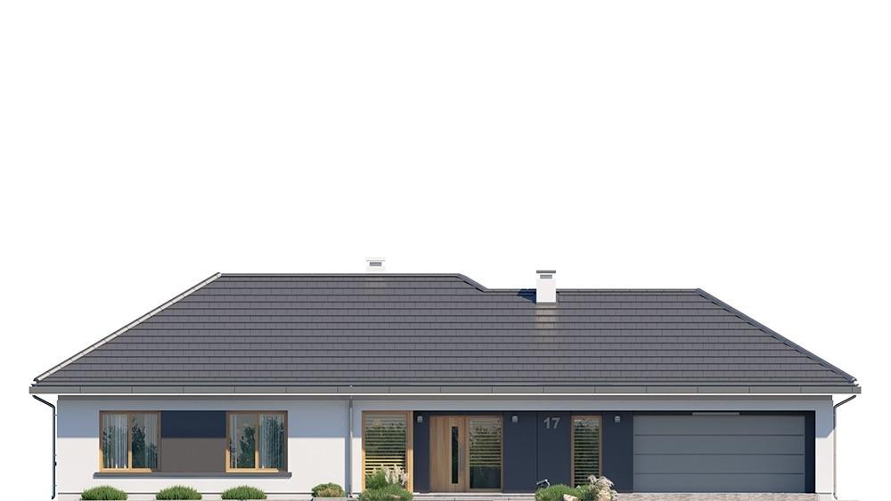 Projekt domu Dom na szerokiej 3 - elewacje