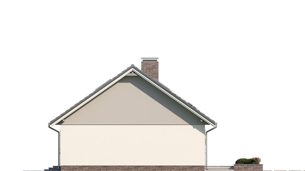 Projekt domu Ekonomiczny 2 elewacja