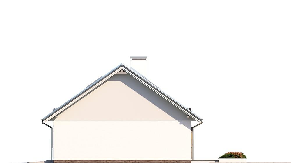 Projekt domu Ekonomiczny 3 elewacja