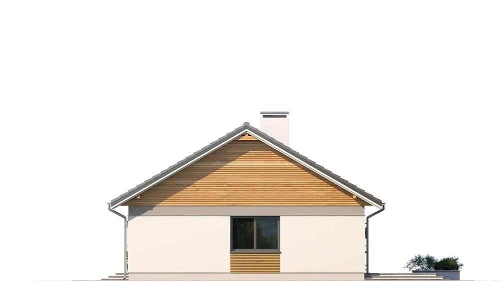 Projekt domu Ekonomiczny elewacja