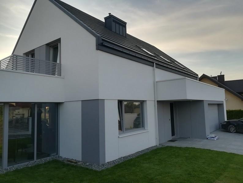Realizacja  domu Fokstrot