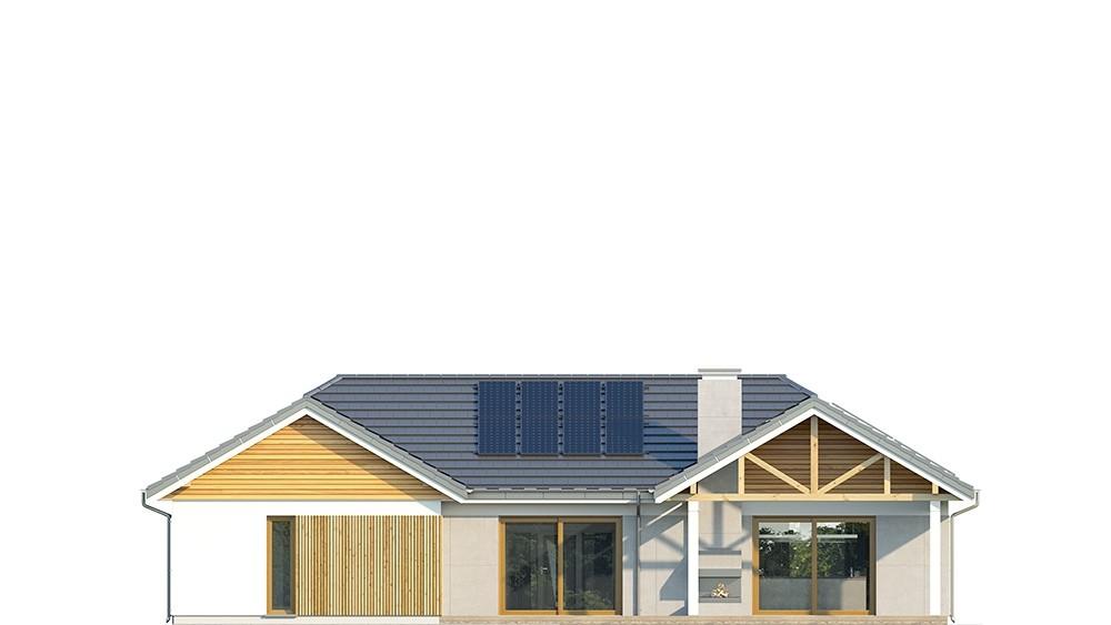 Projekt domu Hanka - elewacja