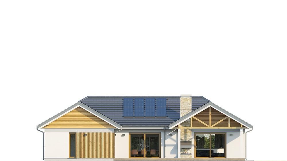 Projekt domu Hanka 2 - elewacja