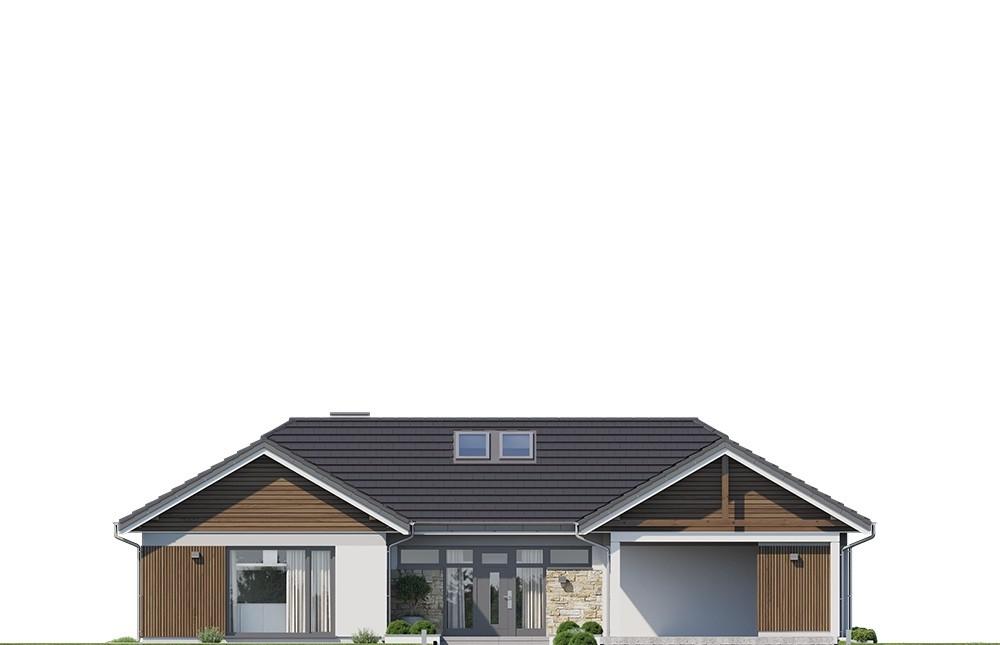Projekt domu Hanka 3 - elewacja