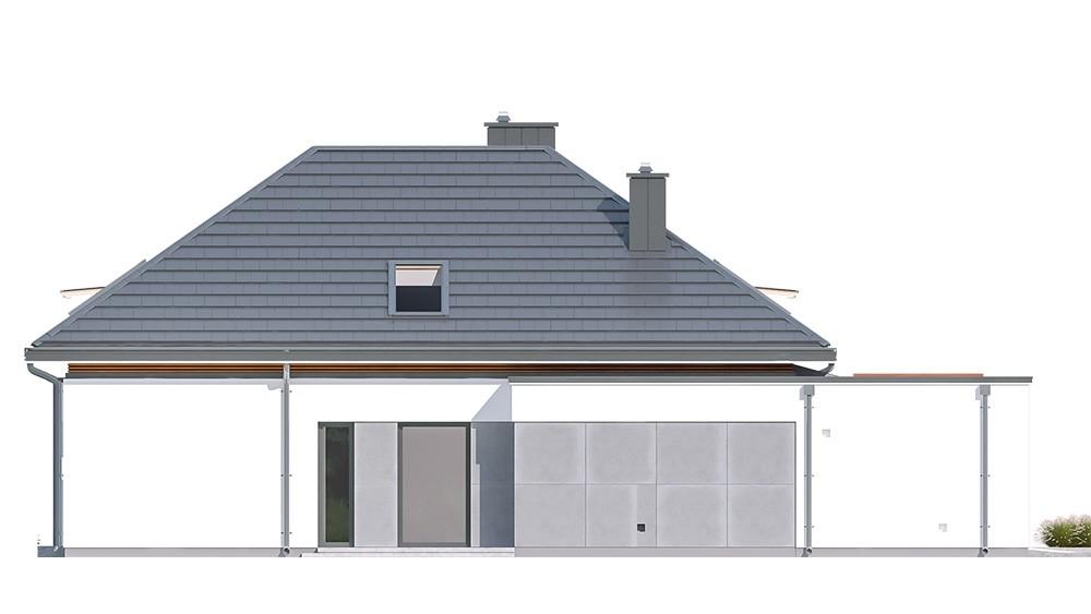 Projekt domu Hiacynt - elewacja
