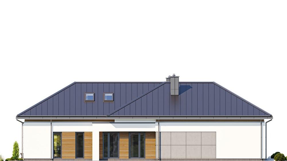 Projekt domu Hiacynt 5 - elewacja