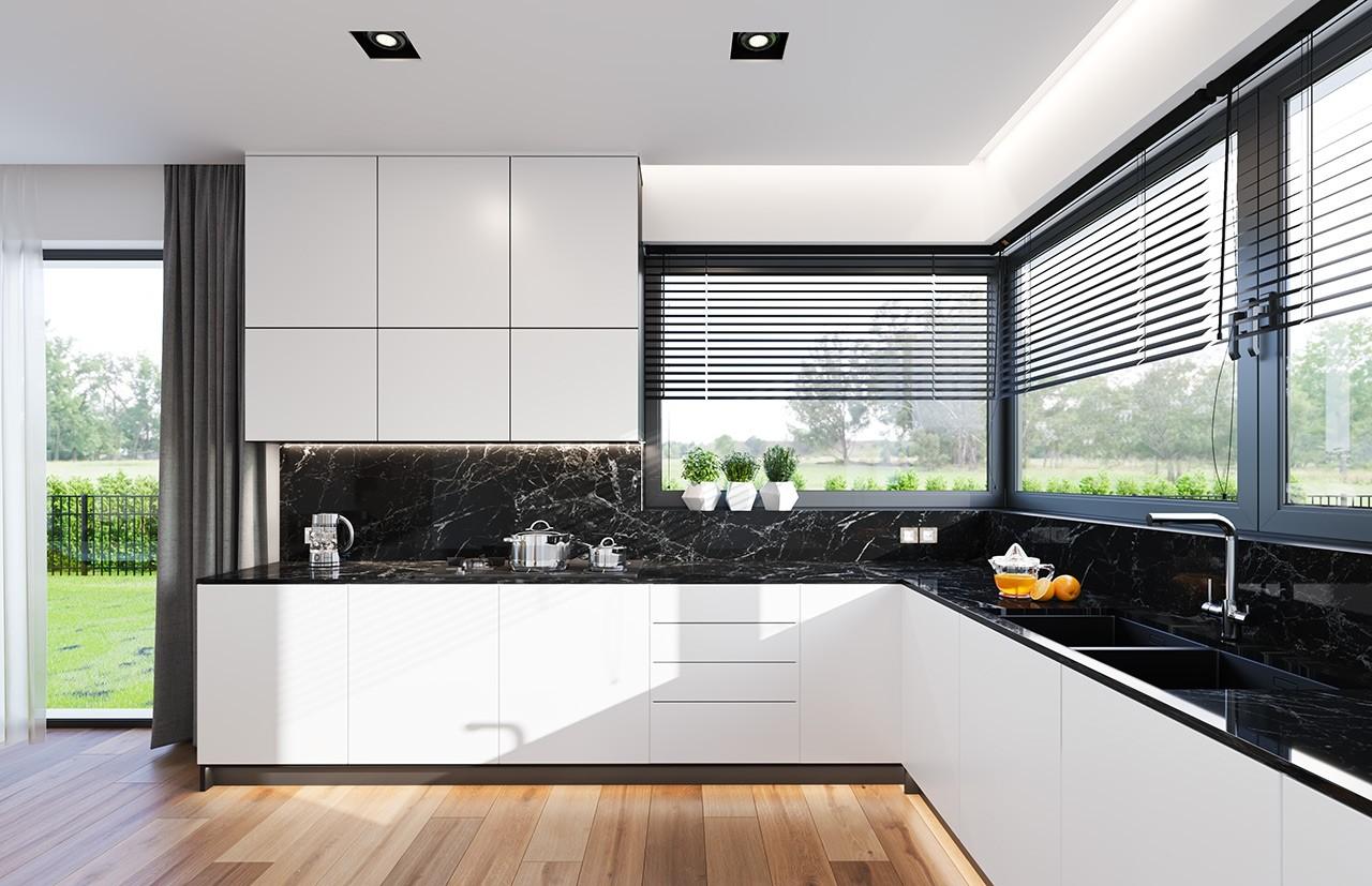 Projekt domu Hiacynt 5 - wizualizacja wnętrza