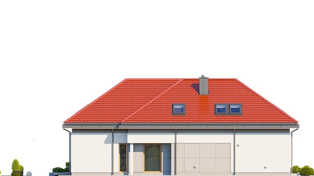 Projekt domu Hiacynt 6 - elewacja