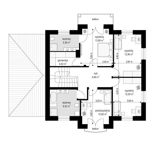 Magnat 2 - rzut piętra
