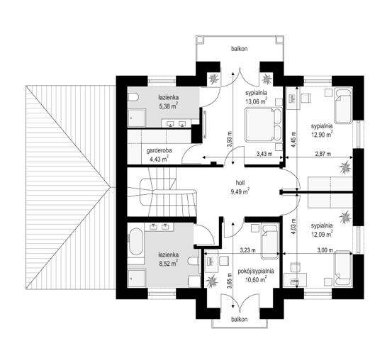 Magnat 3 - rzut piętra