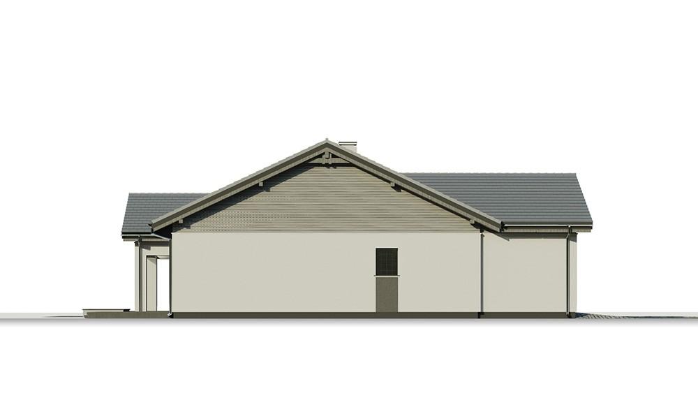 Projekt domu Parterowy 4 B - elewacja