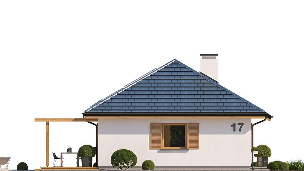 Projekt domu Sensowny 3 - elewacja