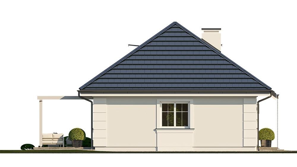 Projekt domu Sensowny 4 - elewacja