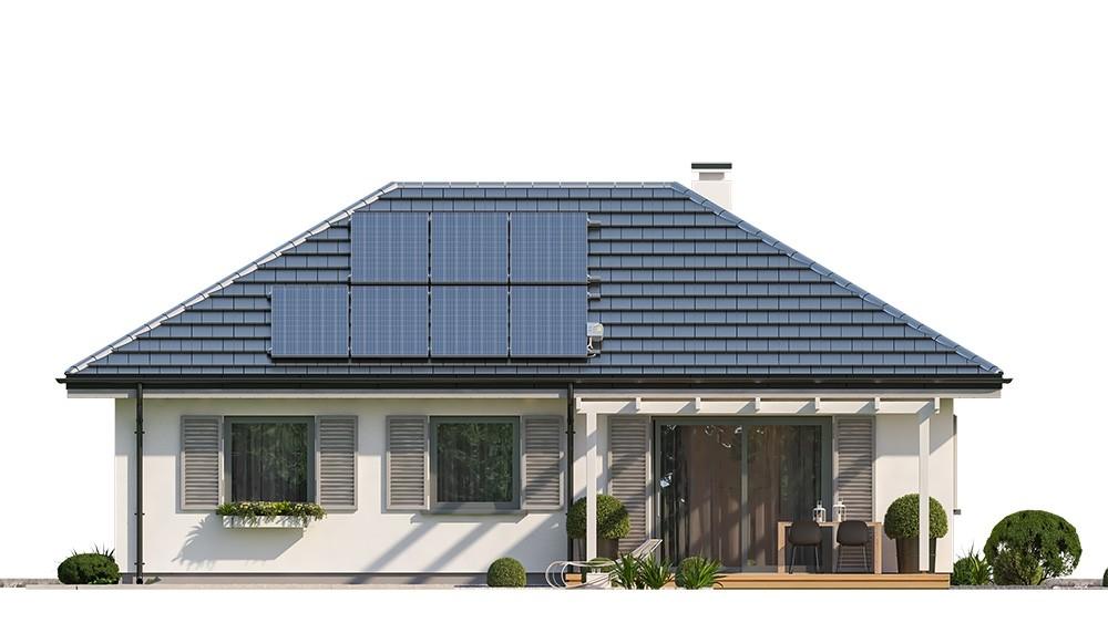 Projekt domu Sensowny 3 B - elewacja