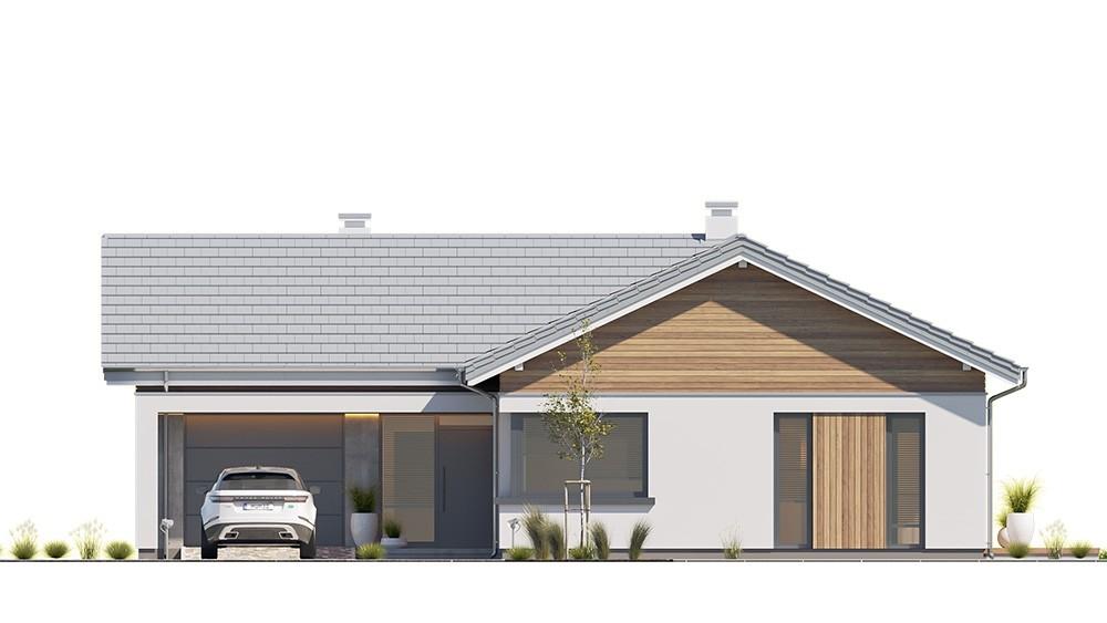 Projekt domu Sielanka 2 B - elewacja