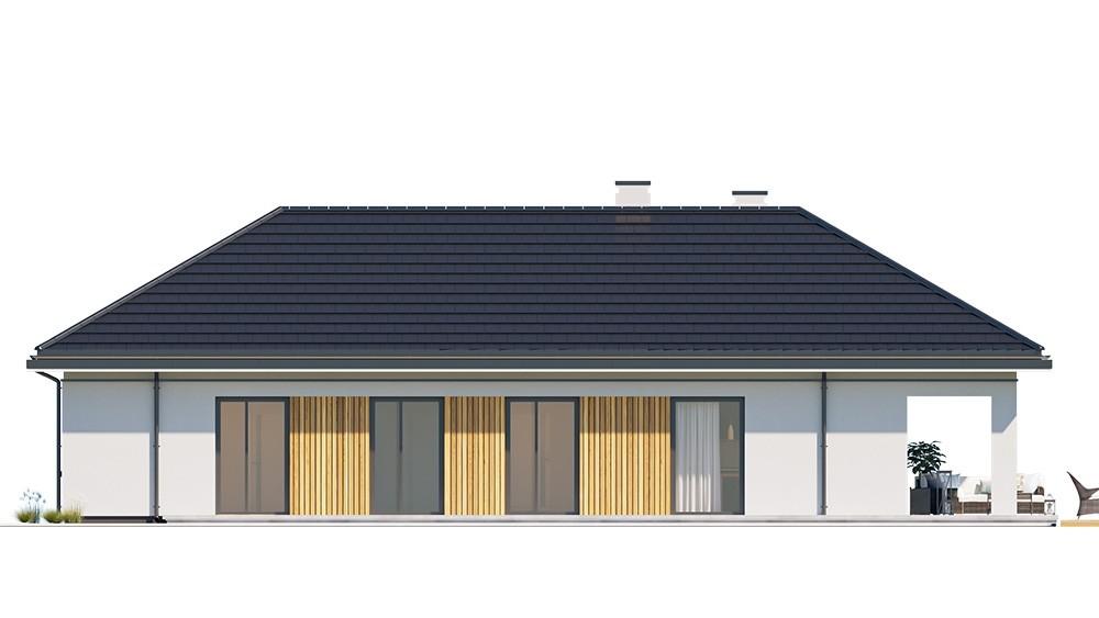 Projekt domu Sielanka 3 - elewacja