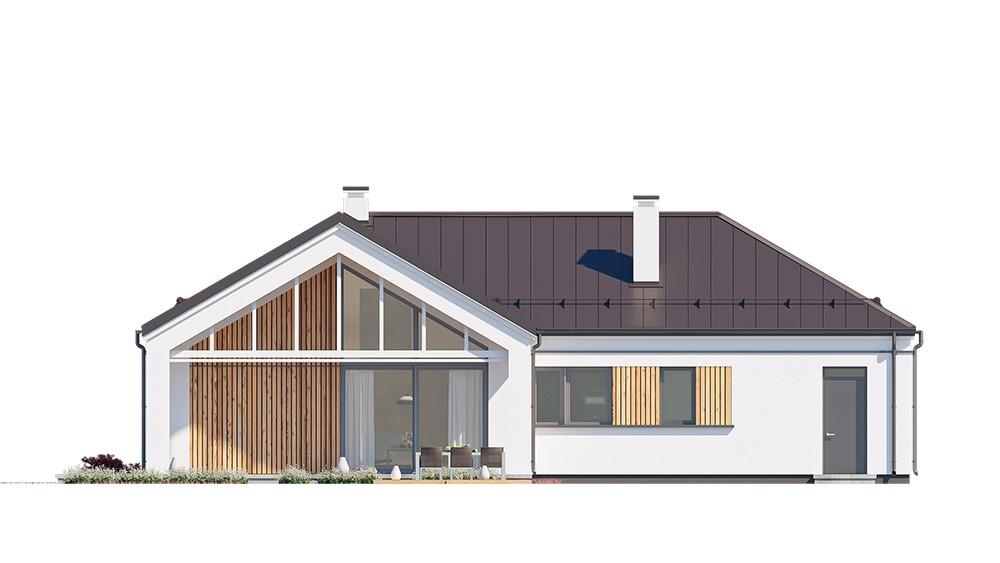 Projekt domu Sielanka 4 - elewacja