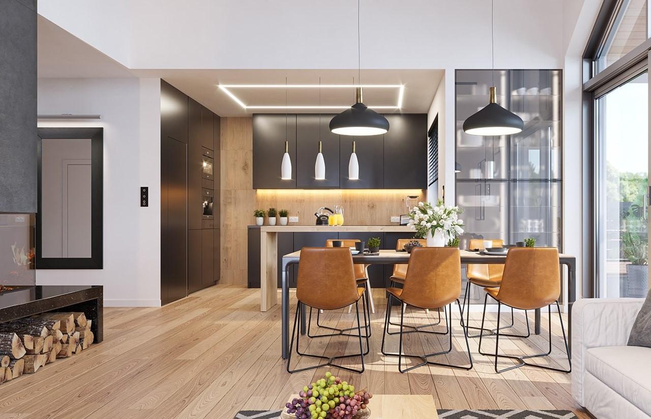 Projekt domu Sielanka 4 - wizualizacja wnętrza