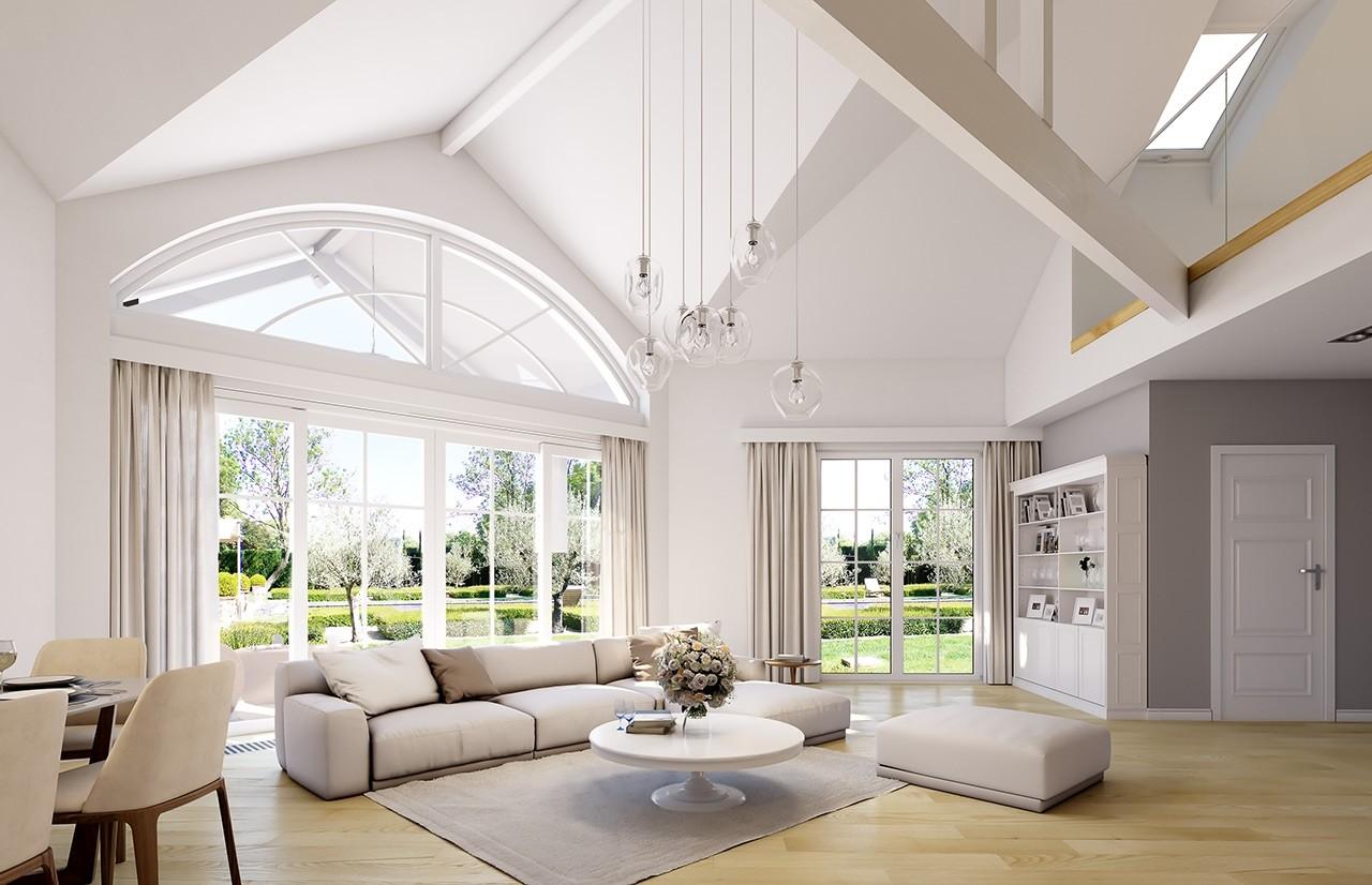Projekt domu Willa parkowa 7 - wizualizacja wnętrza