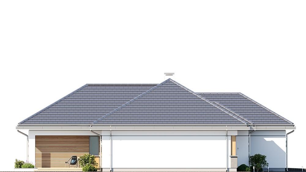 Projekt domu Willa parterowa 3 - elewacja