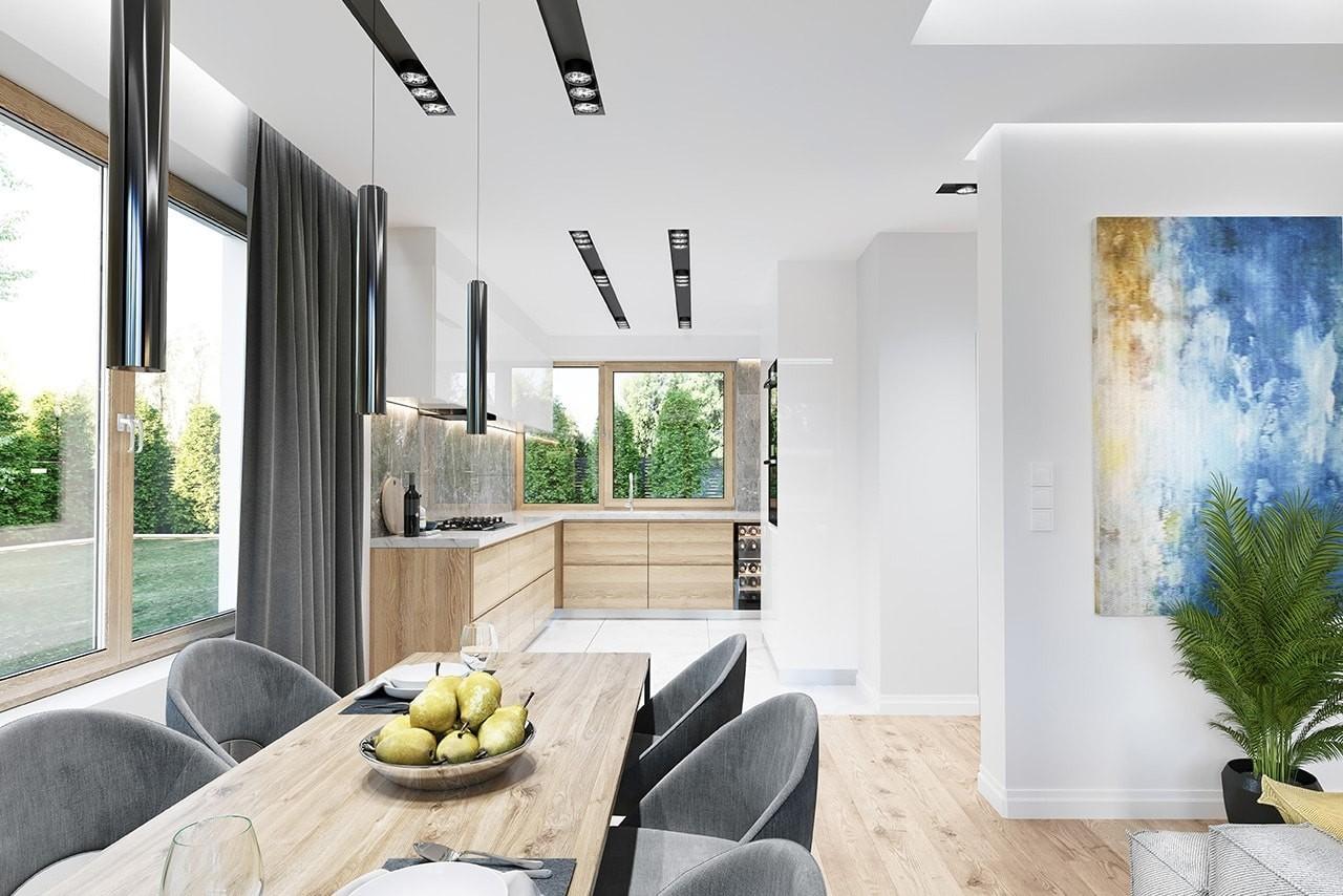 Projekt domu Wymarzony 10 wizualizacja wnetrza 3 odbicie lustrzane