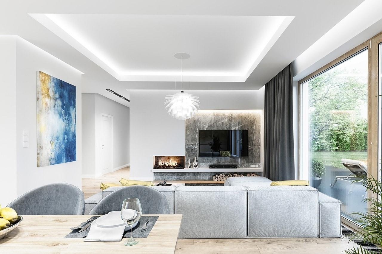 Projekt domu Wymarzony 10 wizualizacja wnetrza 4 odbicie lustrzane