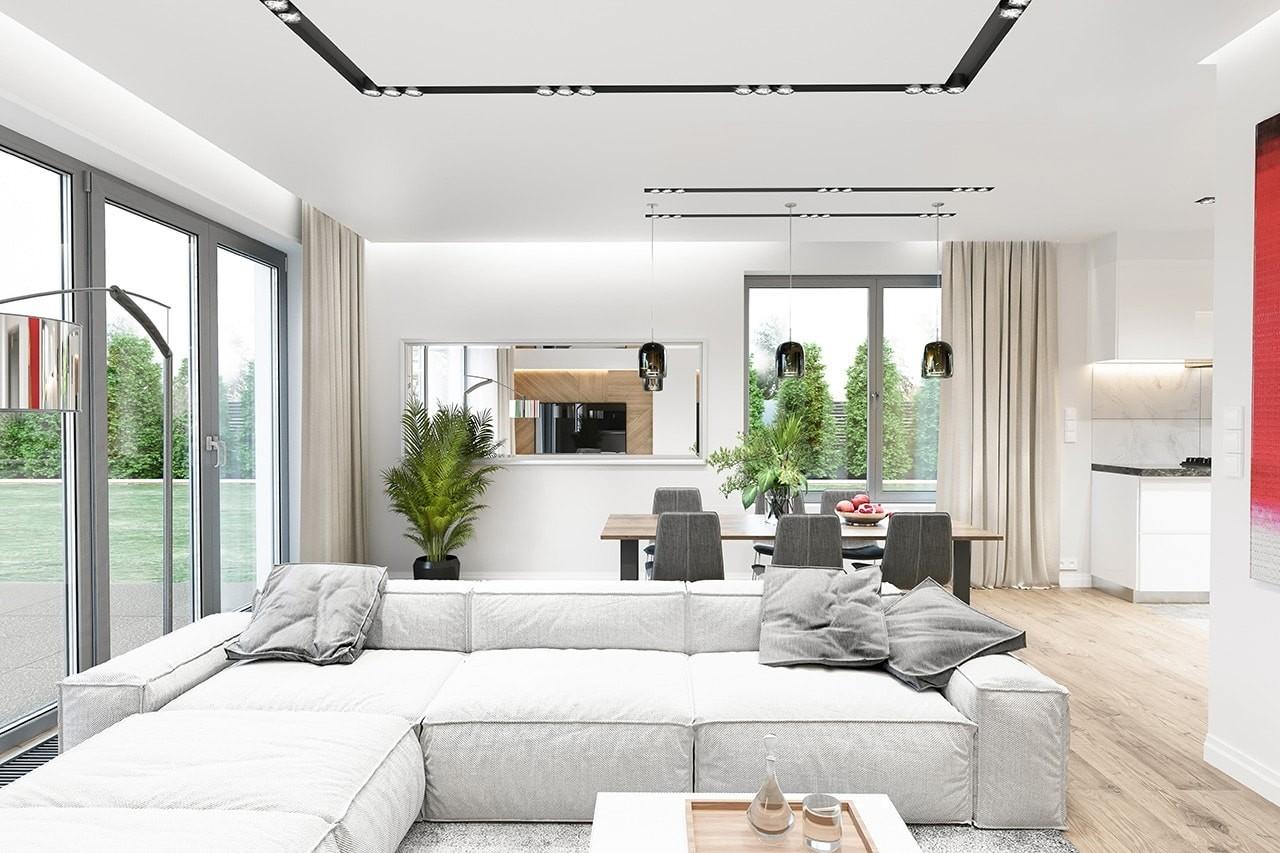 Projekt domu Wymarzony 11 wizualizacja wnetrza 3 odbicie lustrzane