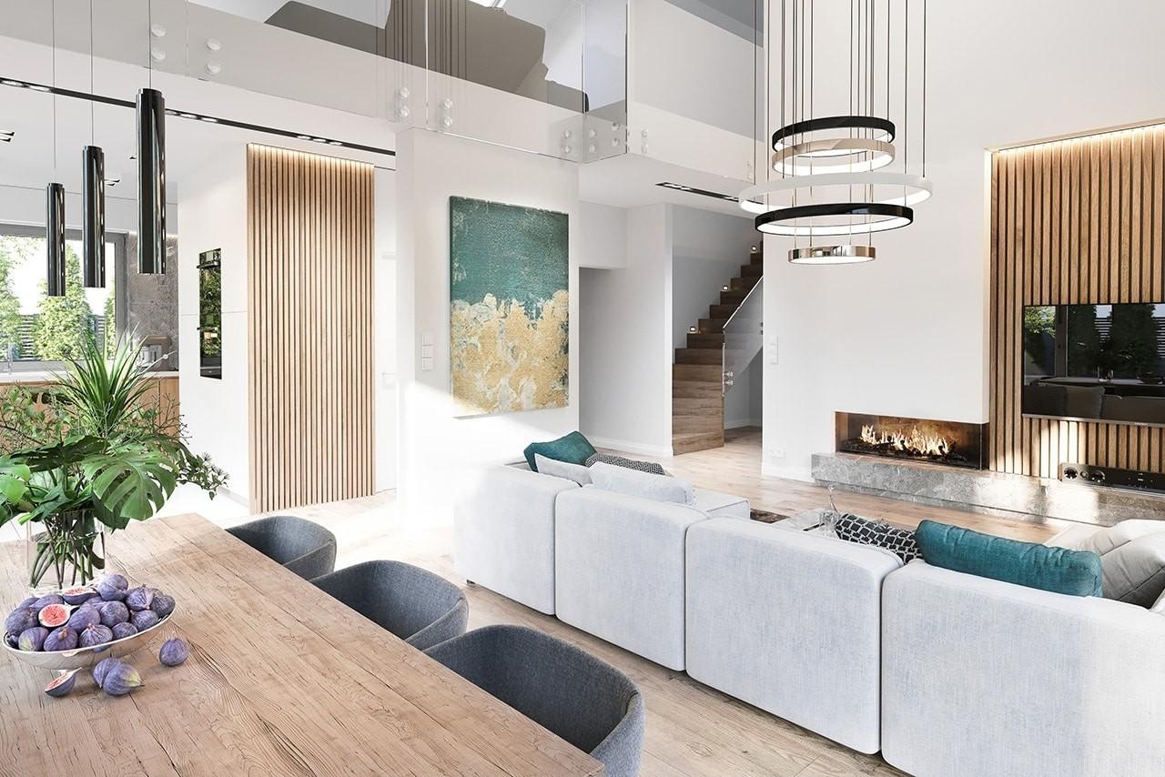 Projekt domu Wymarzony 6 wizualizacja wnetrza 1 odbicie lustrzane