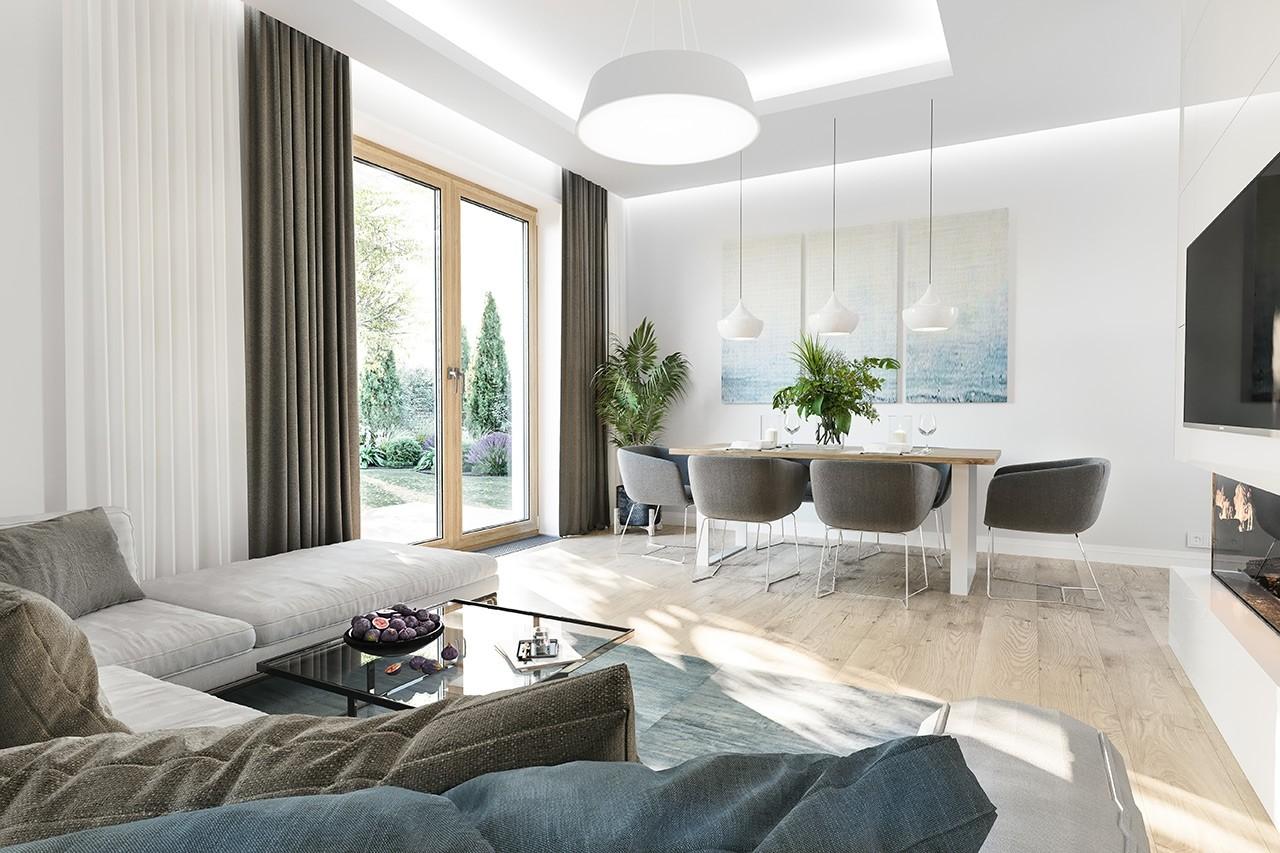 Projekt domu Zosia 5 - wizualizacja wnętrza