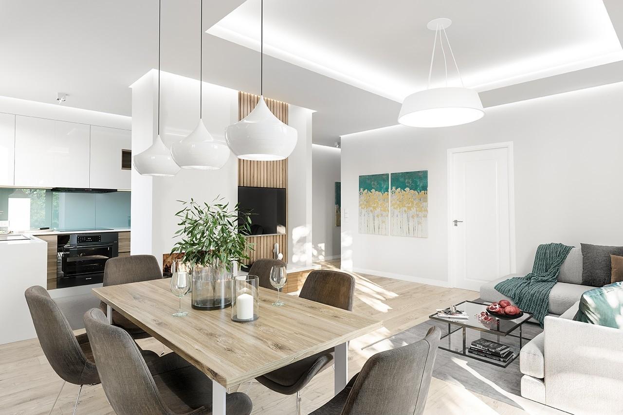 Projekt domu Zosia 6 - wizualizacja wnętrza