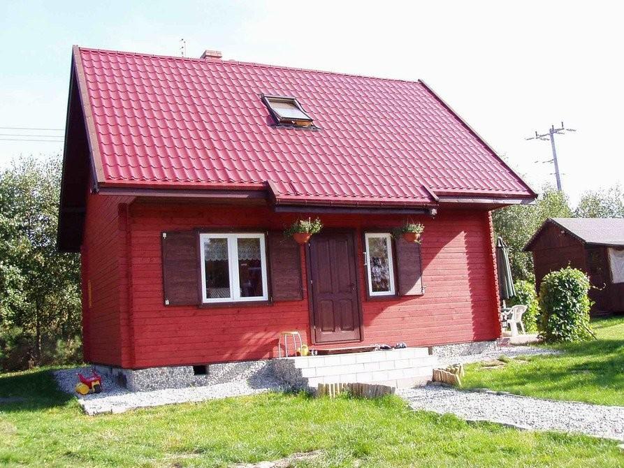 Realizacja domu Sosenka drewniana