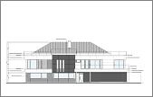 Projekt domu Willa Floryda wariant D