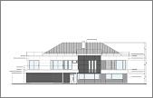 Projekt domu Willa Floryda wariant D odbicie lustrzane