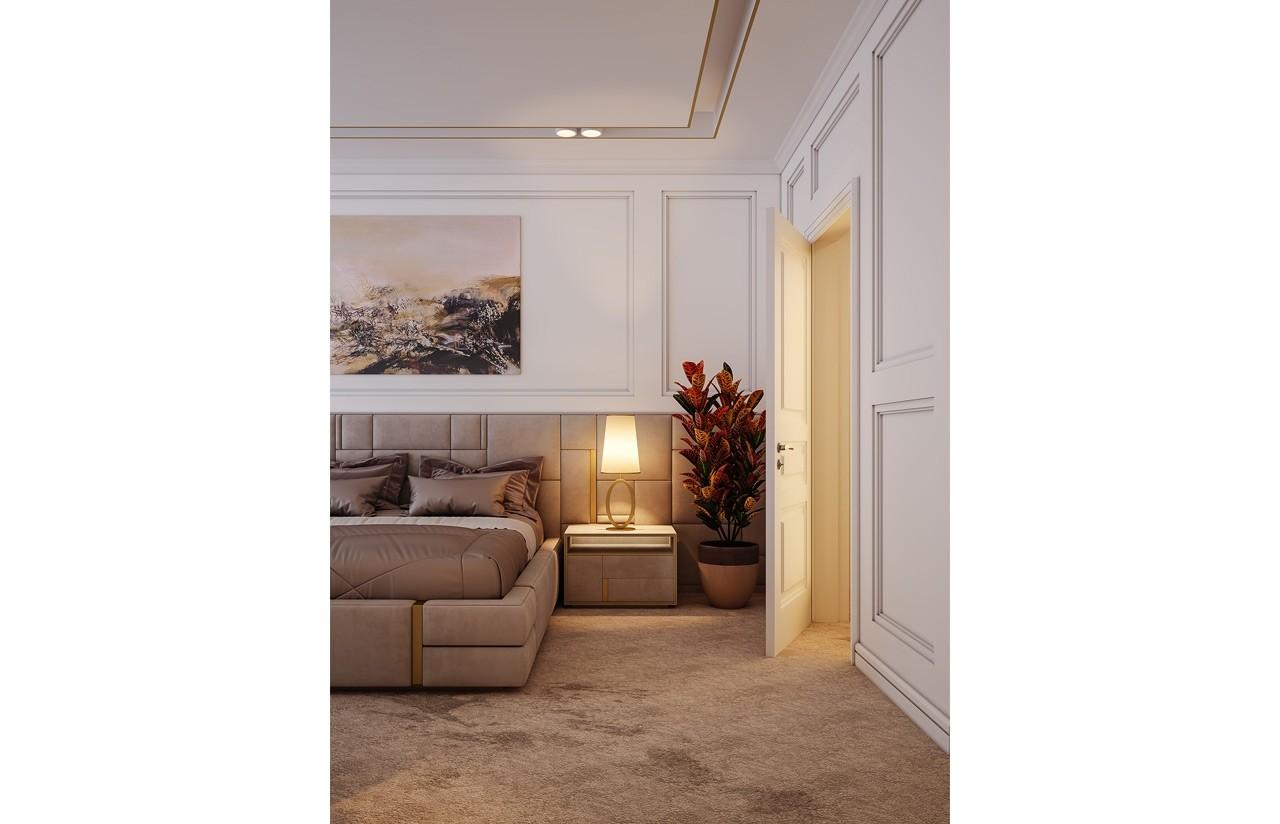 Wnętrze domu - Willa parkowa 4 odbicie lustrzane