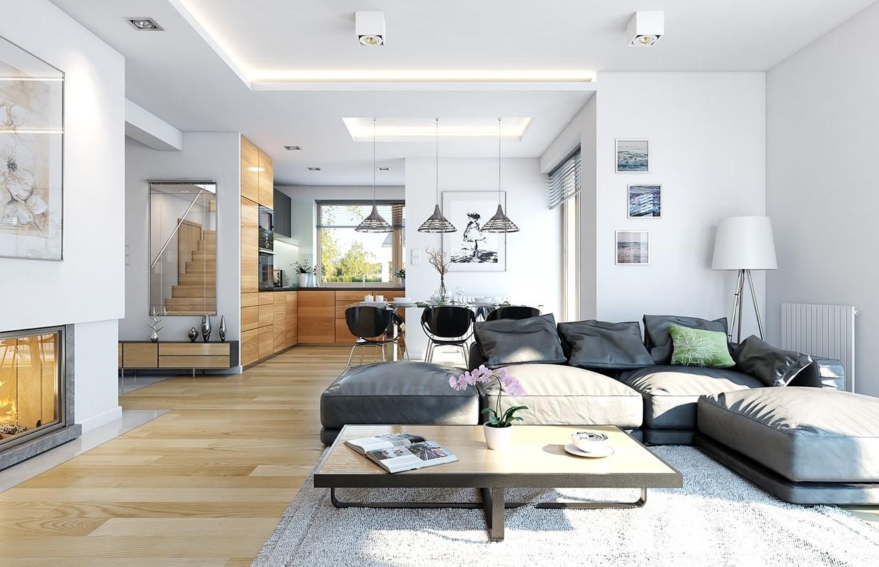 Projekt domu Dom na miarę - wnętrza