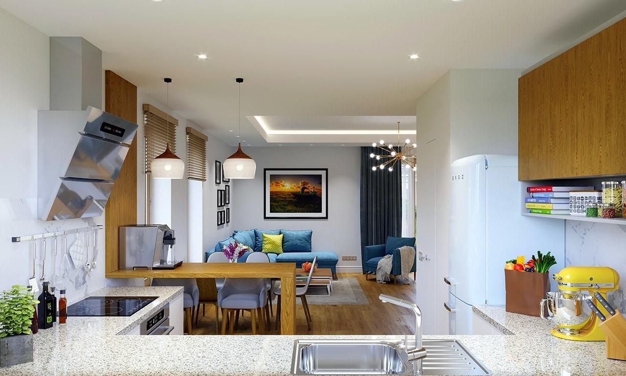 Wnętrze domu Idealny