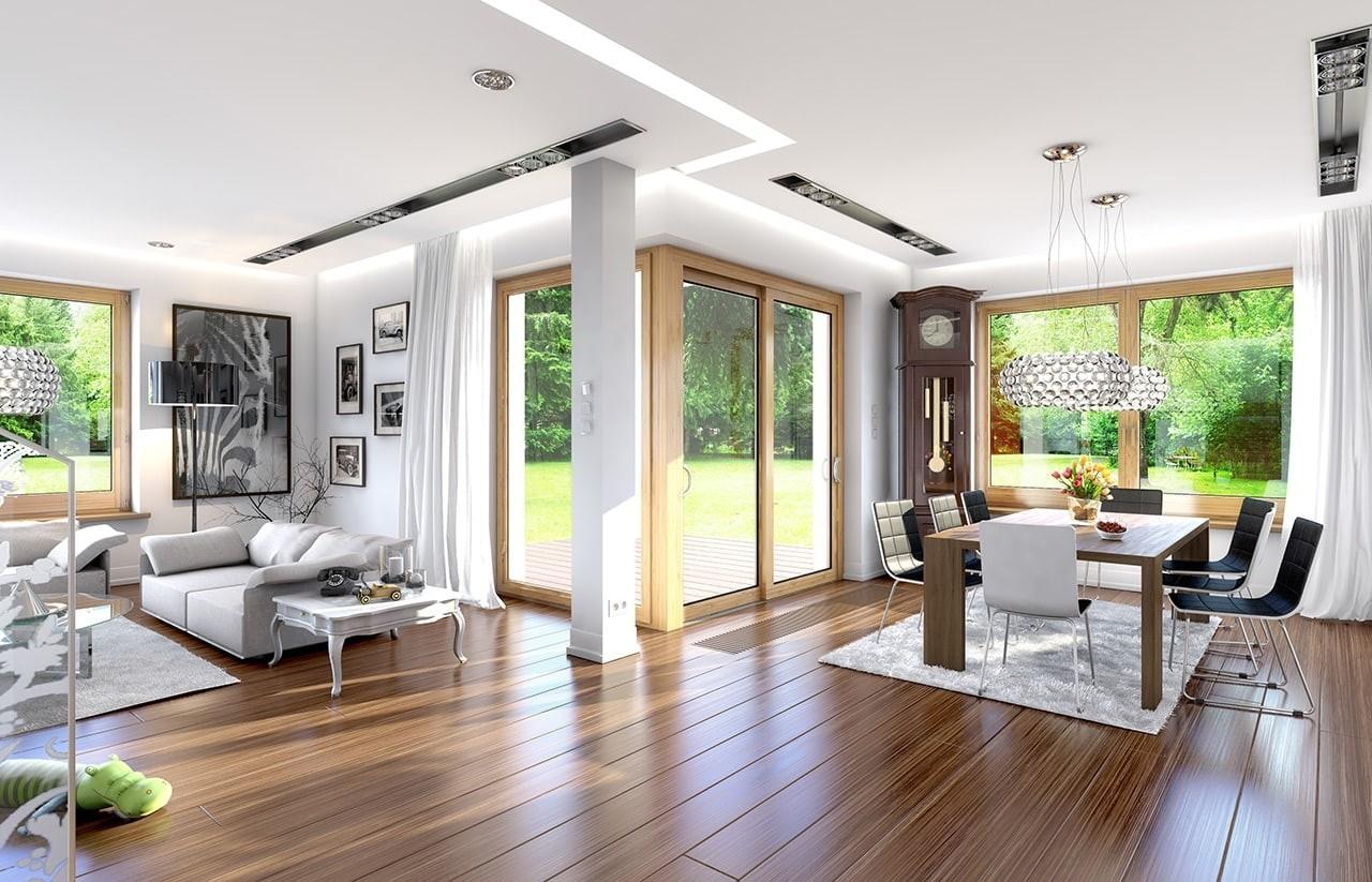 Wnętrze domu Opal